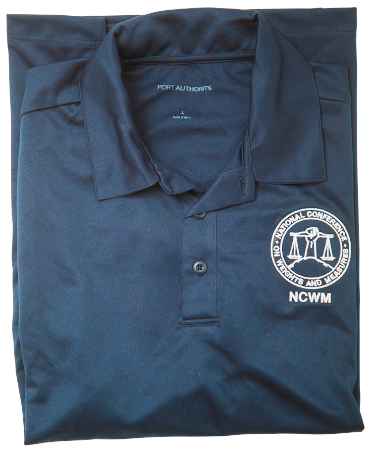 NCWM men's polo (blue)