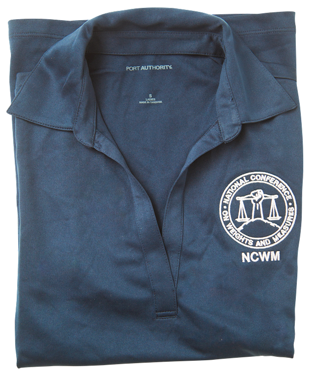 NCWM women's polo (blue)