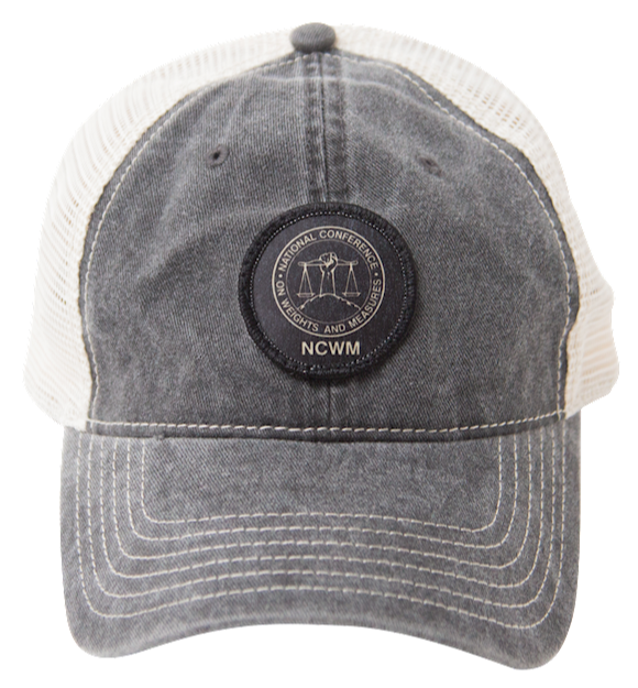 NCWM trucker hat (grey)