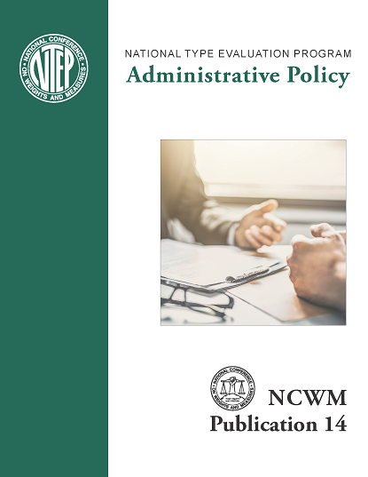 NCWM Publication 14 Administrative Policy