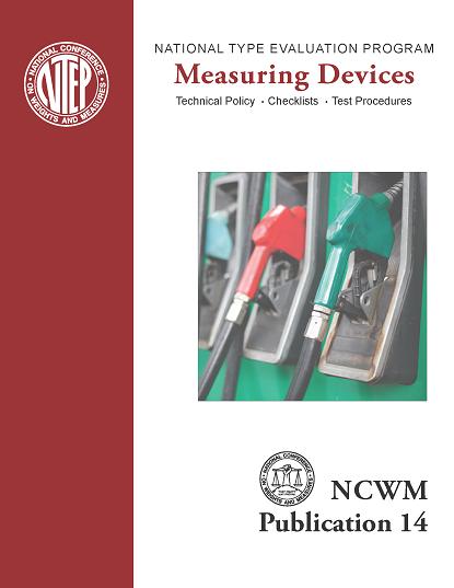 NCWM Publication 14 Measuring Devices