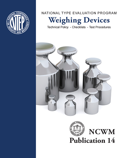 NCWM Publication 14 Weighing Devices